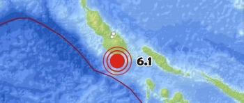 Un terremoto de 6,1 grados sacude las Islas Salomón