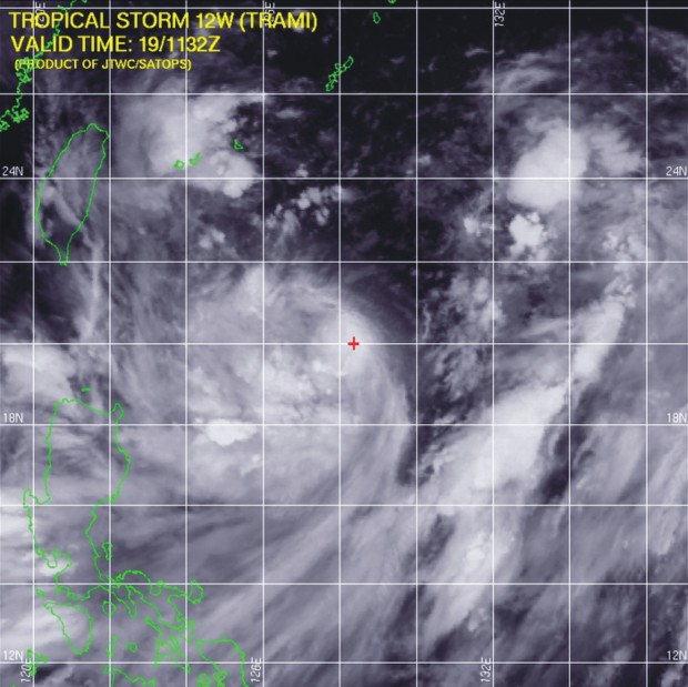tormenta tropical Trami 19082013 mn2