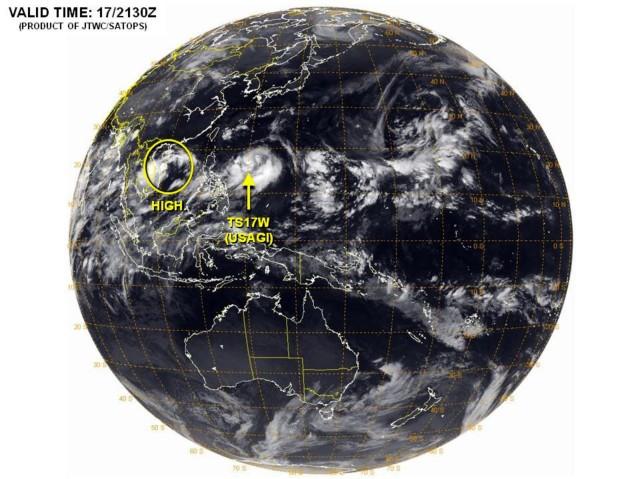 ubicación tormenta tropical Usagi mn2 ind
