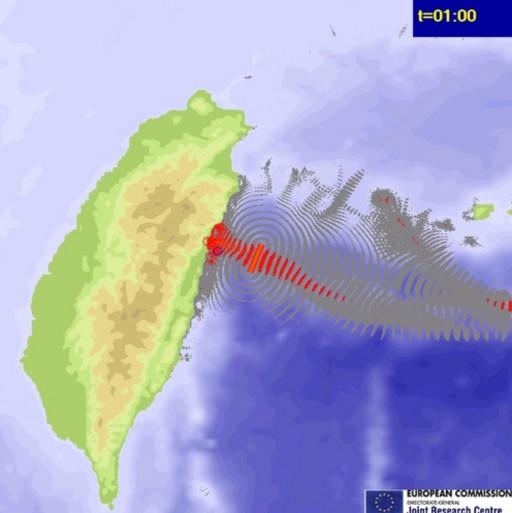 6.3 Taiwan 31102103 tsunami  ind wp