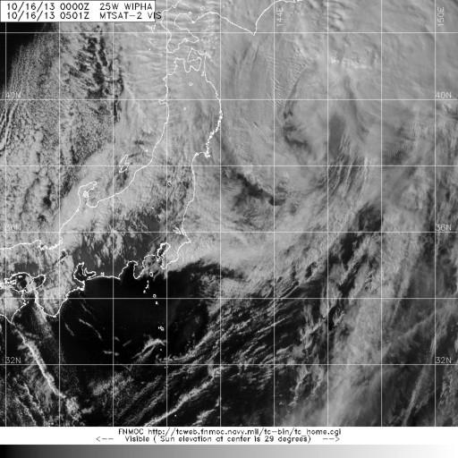 Iimagen de satélite MTSAT2  del tifón Wipha indagadores wp