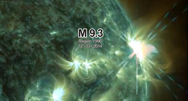 llamarada solar M9.3 12032014 Indagadores wp